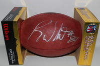 FALCONS - RODDY WHITE SIGNED AUTHENTIC FOOTBALL (SLIGHT SMEAR)