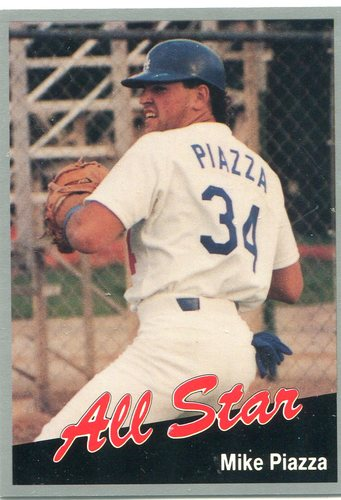 Photo of 1991 California League All-Stars #6 Mike Piazza