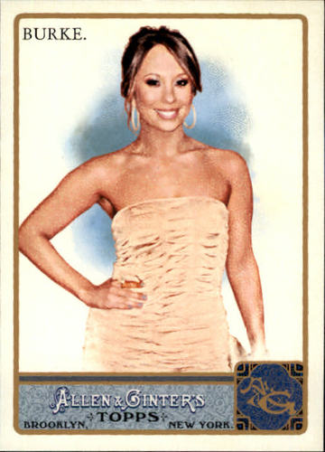 Photo of 2011 Topps Allen and Ginter #242 Cheryl Burke