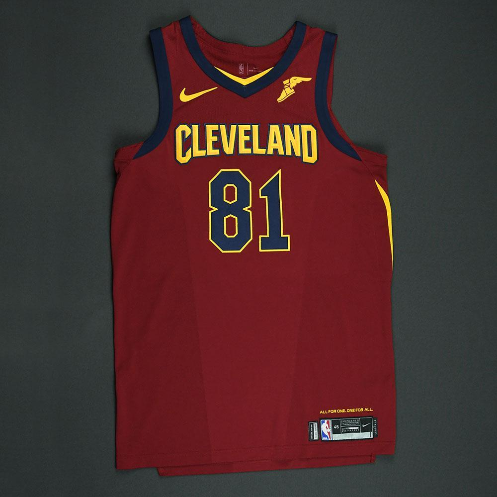 Jose Calderon - Cleveland Cavaliers - 2018 NBA Playoffs Game-Worn Jersey - Worn in 2 Games