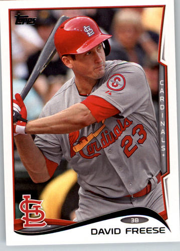 Photo of 2014 Topps #109 David Freese