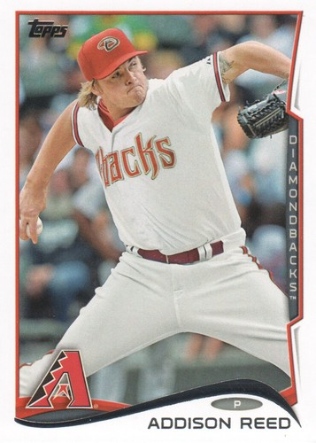 Photo of 2014 Topps #551 Addison Reed