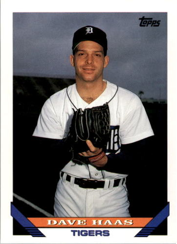Photo of 1993 Topps #536 Dave Haas