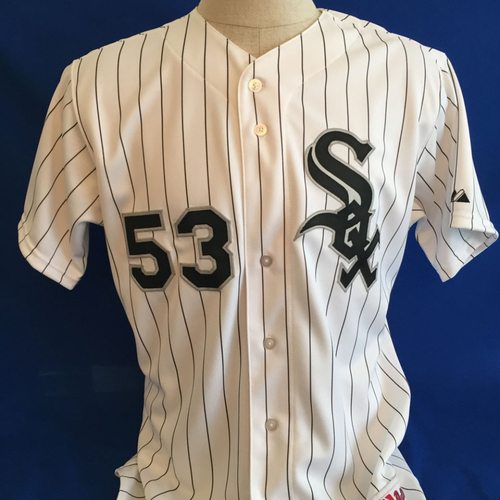 Photo of UMPS CARE AUCTION: Melky Cabrera Signed White Sox Jersey Size 46