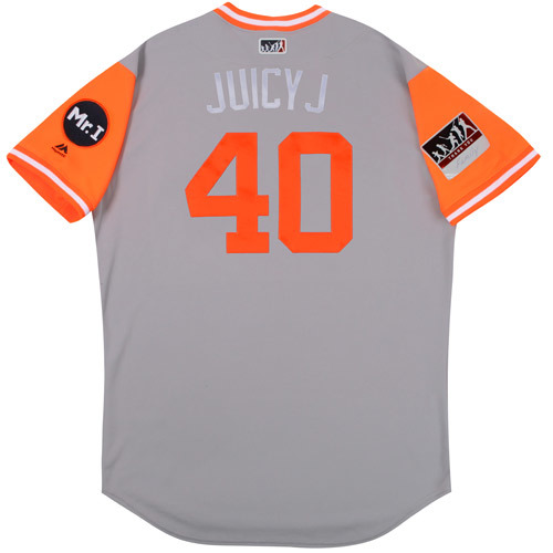 "Photo of JaCoby ""Juicy J"" Jones Detroit Tigers Game-Used Players Weekend Jersey"