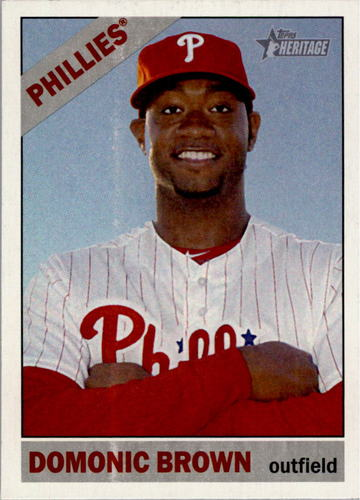 Photo of 2015 Topps Heritage #137 Domonic Brown