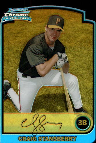 Photo of 2003 Bowman Chrome Draft Gold Refractors #42 Craig Stansberry