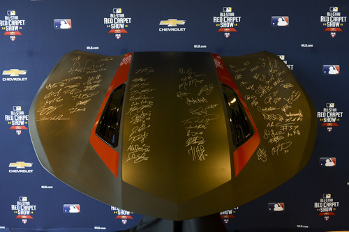 All-Star Autographed 50th Anniversary Edition Chevrolet Camaro Hood