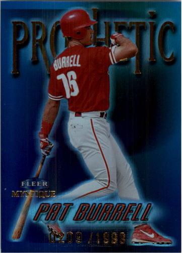 Photo of 1999 Fleer Mystique Prophetic #9 Pat Burrell