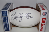CHIEFS - DUSTIN COLQUITT SIGNED PANEL BALL