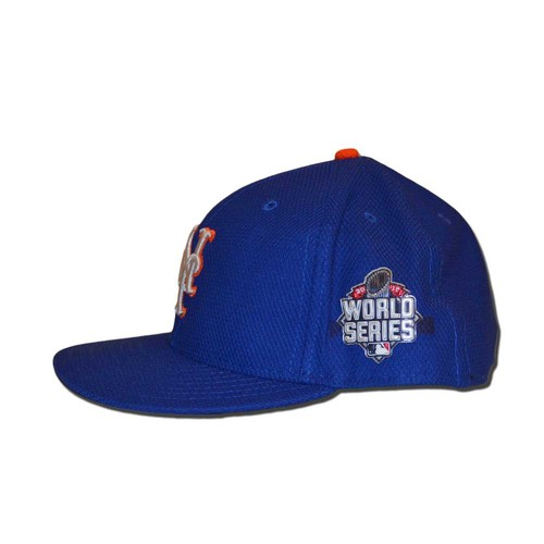 Photo of Bartolo Colon #40 - Game Used World Series Hat - Game 1 Colon Relief Appearance 2.1 IP - Mets vs. Royals - 10/27/15