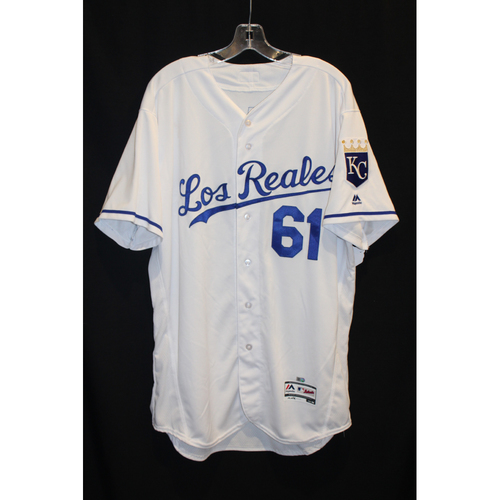 Photo of Game-Used Jersey: Kevin McCarthy (Size 48 - TOR at KC - 6/24/17)