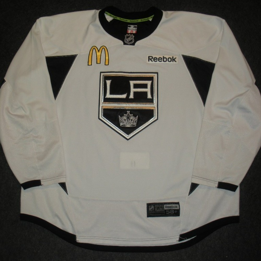 Anze Kopitar  - 2014 Stanley Cup Final - Los Angeles Kings - Practice-Worn Jersey