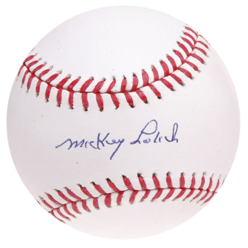 Photo of Ed Randall's Fans For the Cure Auction: Mickey Lolich Autographed Baseball