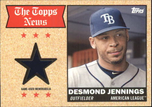 Photo of 2014 Topps Archives Relics #68TRDJ Desmond Jennings