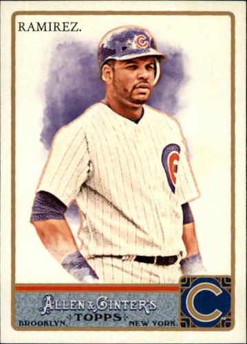 Photo of 2011 Topps Allen and Ginter #212 Aramis Ramirez