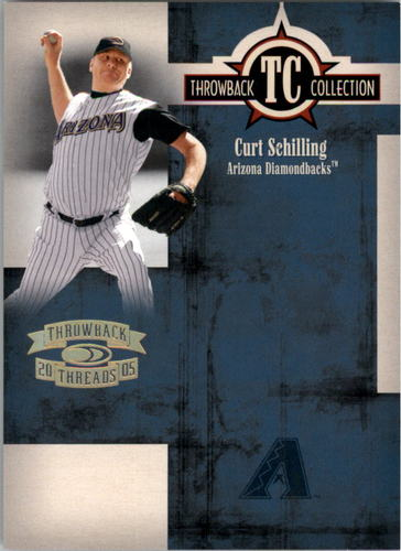 Photo of 2005 Throwback Threads Throwback Collection Spectrum #38 Curt Schilling
