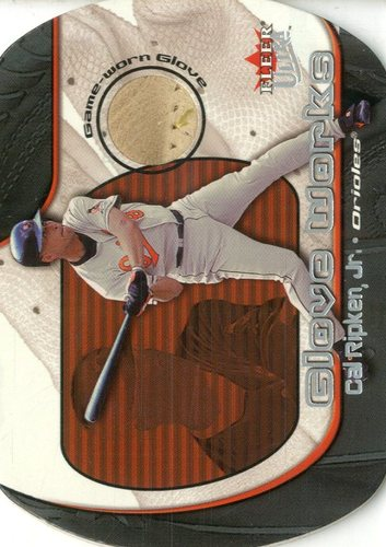 Photo of 2002 Ultra Glove Works Memorabilia #3 Cal Ripken/450