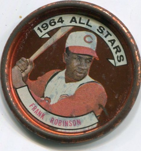 Photo of 1964 Topps Coins #154 Frank Robinson AS