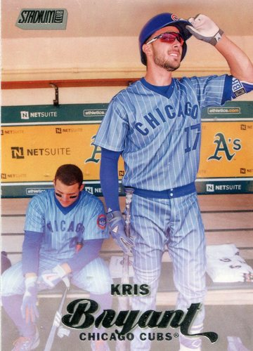 Photo of 2017 Stadium Club #41 Kris Bryant