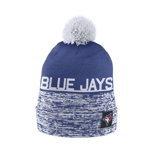 Toronto Blue Jays Local DNA Beanie Removable Pom Pom Knit Toque by Nike