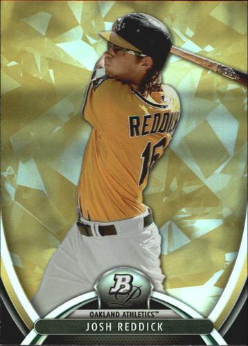 Photo of 2013 Bowman Platinum Gold #33 Josh Reddick -- Astros post-season