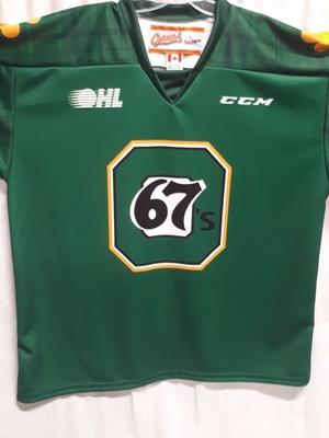 # 26 Jacob Cascagnette St. Pats Jersey