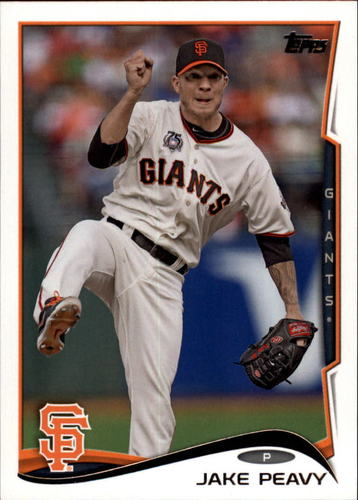 Photo of 2014 Topps Update #US143A Jake Peavy