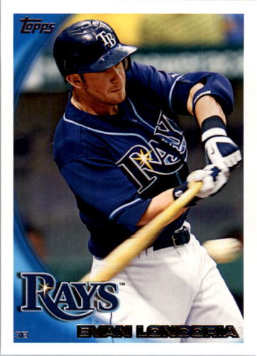 Photo of 2010 Topps #354A Evan Longoria