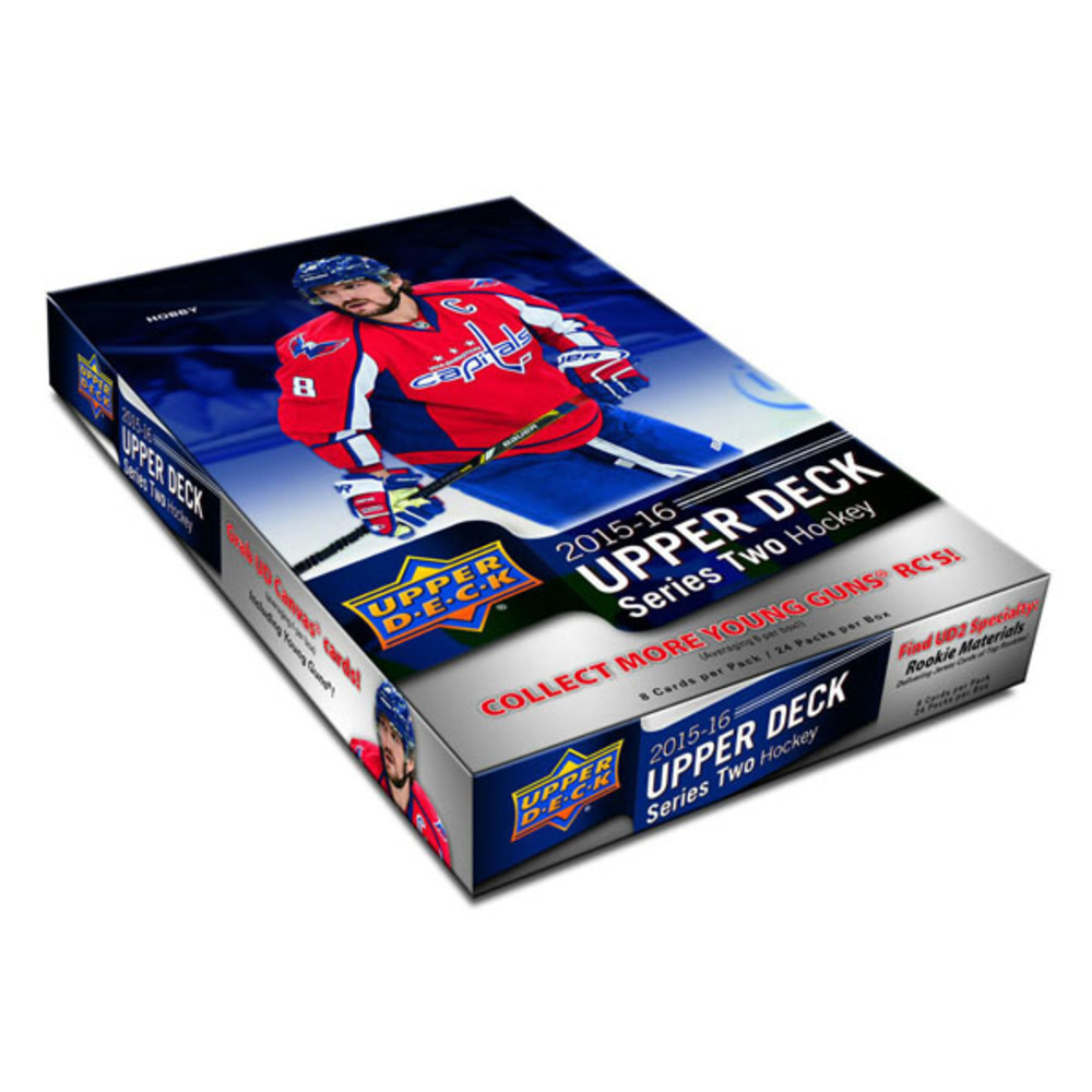 2015-16 Upper Deck Series Two Hobby Box