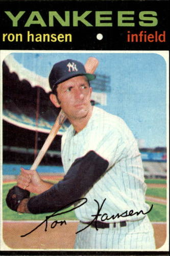 Photo of 1971 Topps #419 Ron Hansen
