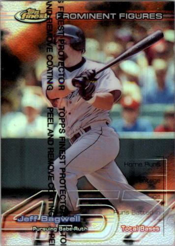 Photo of 1999 Finest Prominent Figures #PF45 Jeff Bagwell TB