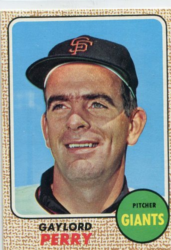Photo of 1968 Topps #85 Gaylord  Perry -- Giants Hall of Famer