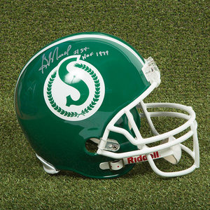 George Reed Saskatchewan Roughriders Autographed Full Size CFL Football Helmet