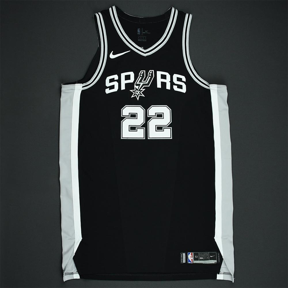 Rudy Gay - San Antonio Spurs - 2018 NBA Playoffs Game-Worn Jersey
