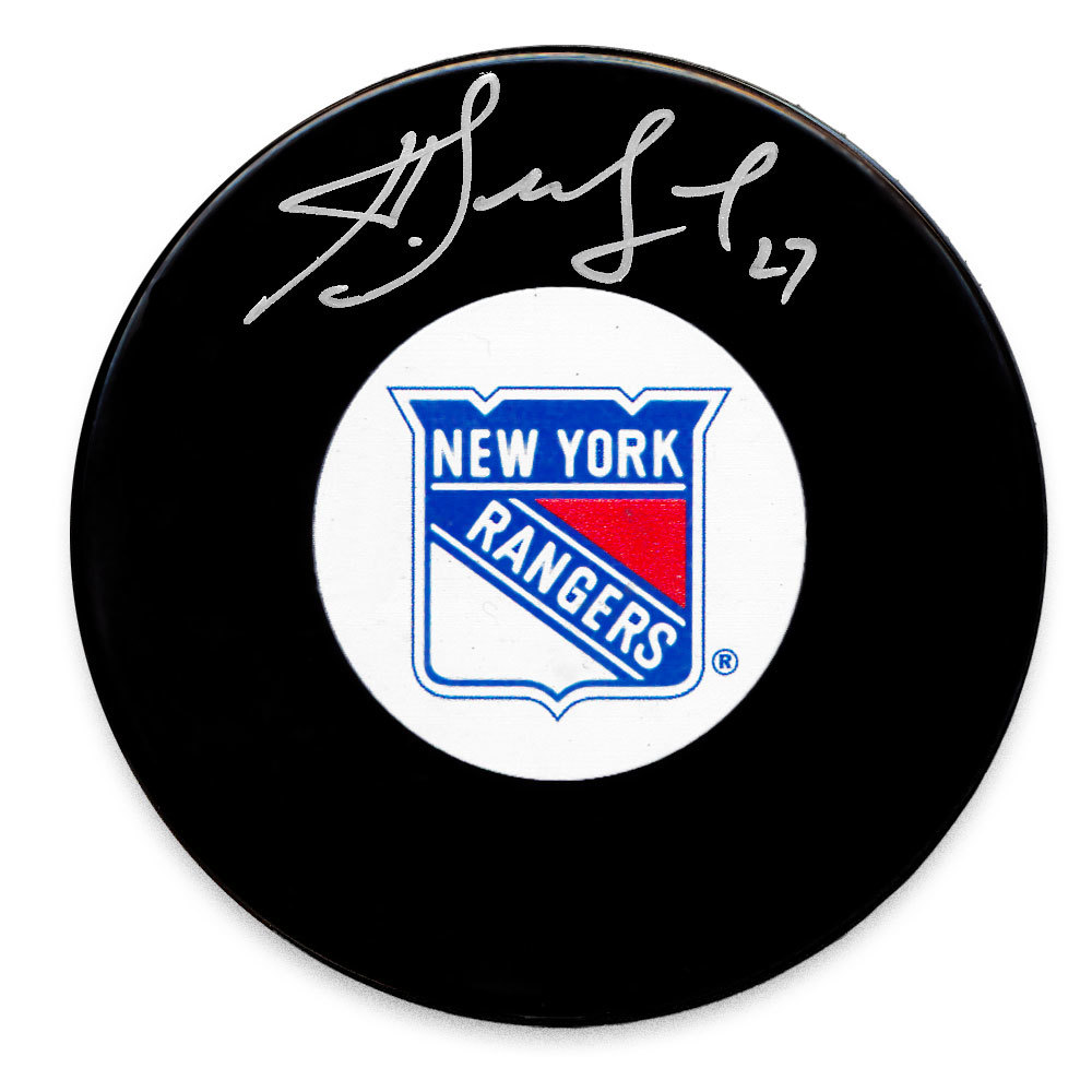 Alex Kovalev New York Rangers Autographed Puck