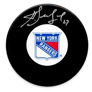 Alex Kovalev New York Rangers Autographed Puck