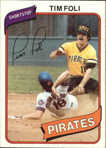 Photo of 1980 Topps #246 Tim Foli DP