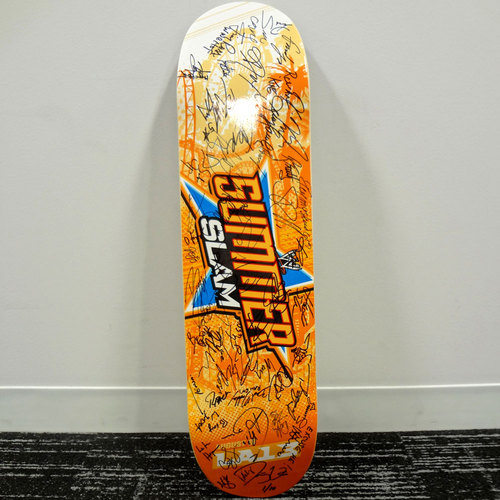 Limited Edition SummerSlam 2013 Skateboard Deck (#1 of 10) SIGNED by over 40 members of the WWE Roster
