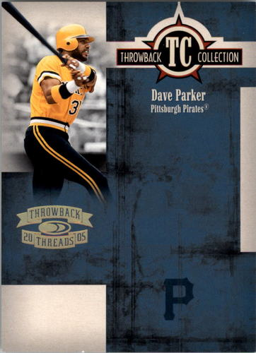 Photo of 2005 Throwback Threads Throwback Collection Spectrum #39 Dave Parker
