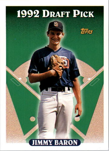 Photo of 1993 Topps #538 Jimmy Baron RC