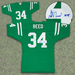 George Reed Saskatchewan Roughriders Autographed Custom CFL Football Jersey