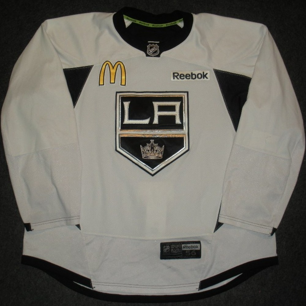 Trevor Lewis - 2014 Stanley Cup Final - Los Angeles Kings - Practice-Worn Jersey