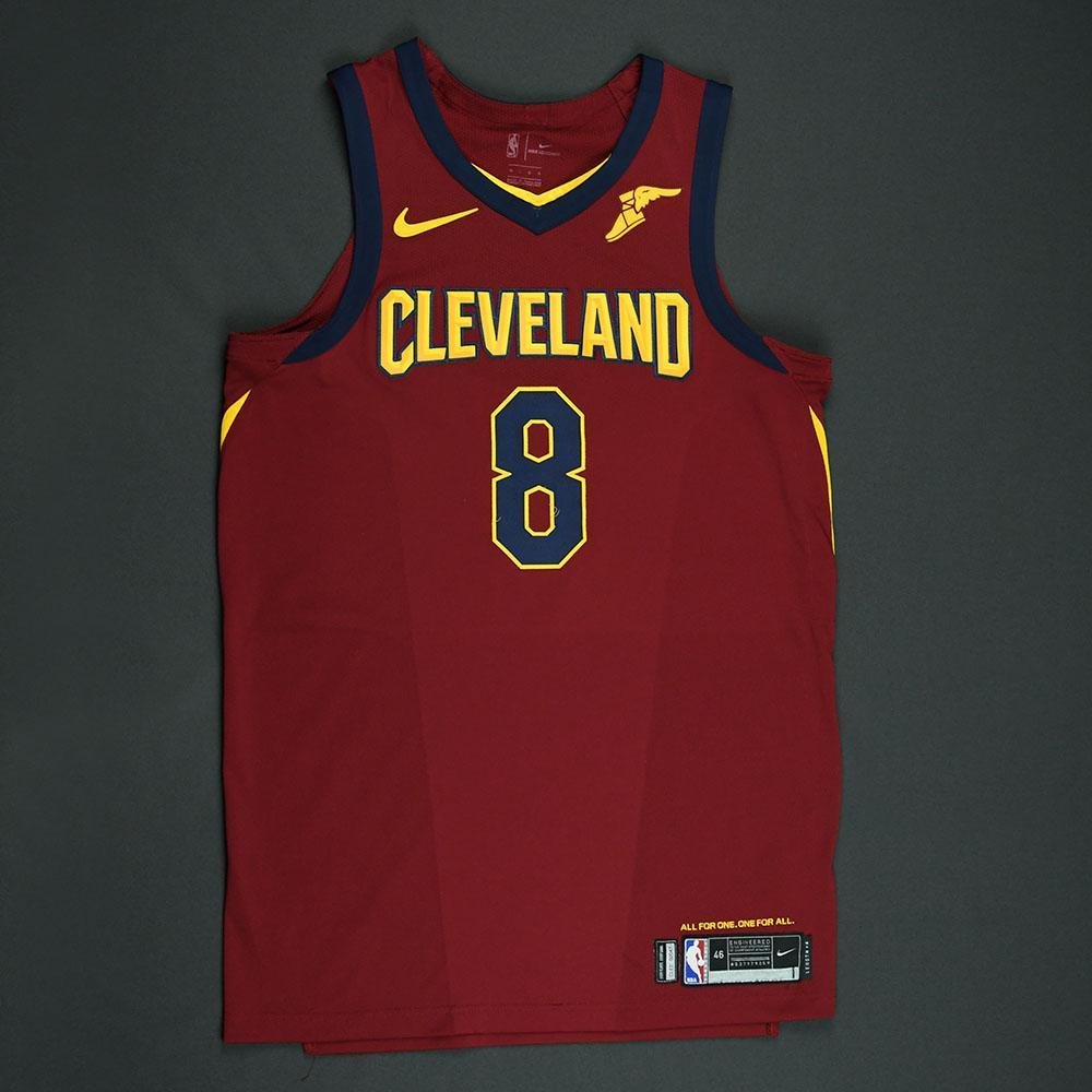 Jordan Clarkson - Cleveland Cavaliers - 2018 NBA Playoffs Game-Worn Jersey - Worn in 4 Games