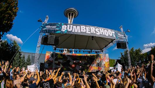 BUMBERSHOOT MUSIC FESTIVAL IN SEATTLE - PACKAGE 1 of 4