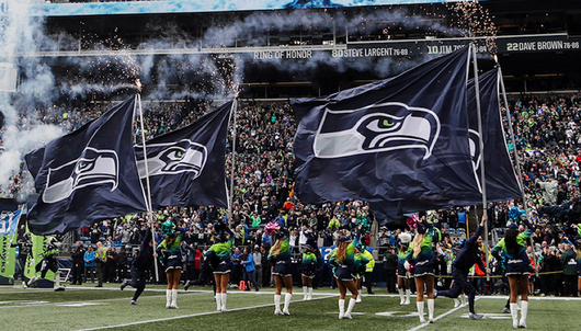 SEATTLE SEAHAWKS PLAYOFF FOOTBALL GAME (2 CLUB LEVEL TICKETS) - PACKAGE 1 OF 2