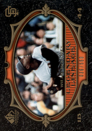 Photo of 2007 SP Legendary Cuts #184 Willie McCovey LL
