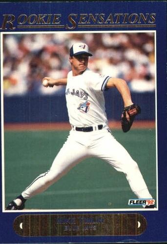 Photo of 1992 Fleer Rookie Sensations #8 Mike Timlin