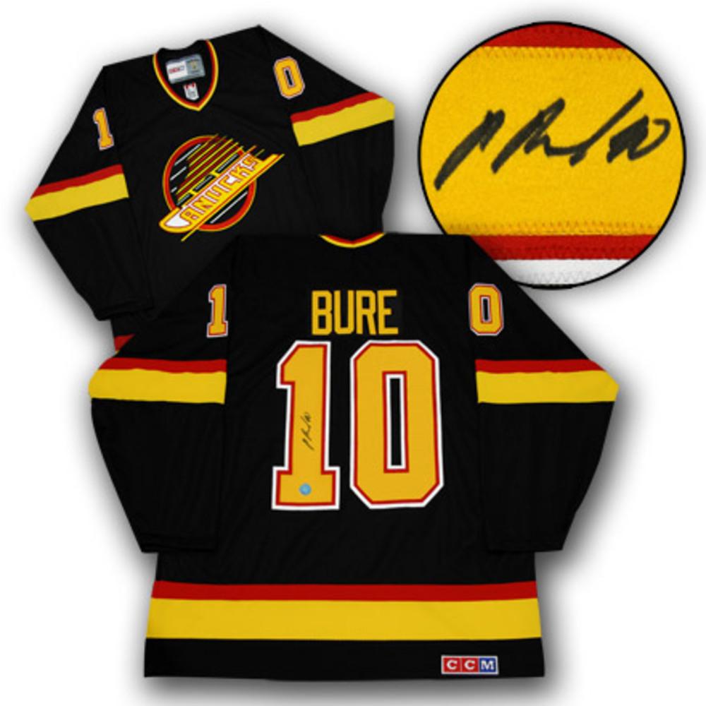 PAVEL BURE Vancouver Canucks SIGNED 1994 Vintage Jersey