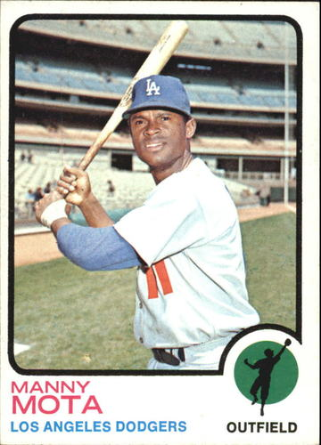 Photo of 1973 Topps #412 Manny Mota
